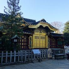 上野東照宮。