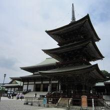 2大本堂と塔
