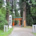 写真:白山神社神楽殿