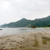 稲佐の浜と屏風岩