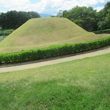 今から55年前に、村人がここに穴を掘ったのがきっかけで発見されたそうです