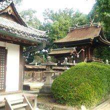 美観地区の神社