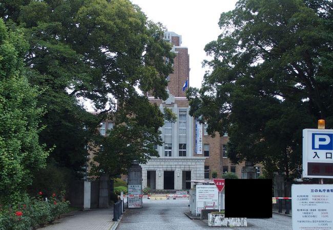 旧茨城県庁 (三の丸庁舎)