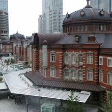 旧局長室から見た東京駅