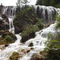写真:九寨溝 珍珠灘瀑布