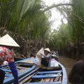 写真:メコン河クルーズ
