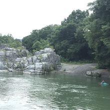 涼しげな荒川