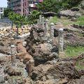 名島帆柱石 <名島の檣石>