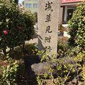 写真:浅草見附跡碑