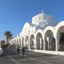 ギリシャ正教会の大聖堂です。
