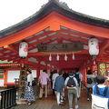 写真:嚴島神社 廻廊