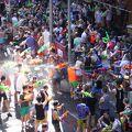写真:ソンクラーン 水かけ祭り