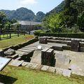 仙巌園(磯庭園) 反射炉跡