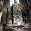 写真:ストラスブール ノートルダム大聖堂/尖塔/カラクリ時計
