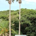写真:椰子の実記念碑