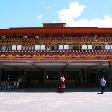 ブータン唯一の国際空港です