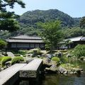 写真:仙巌園(磯庭園) 大池