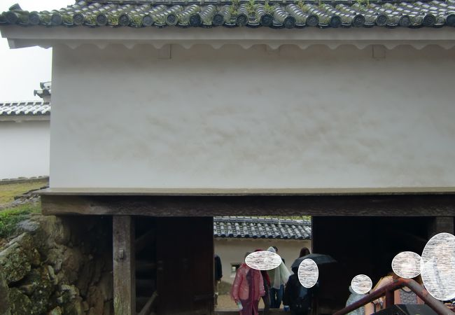 姫路城 はの門
