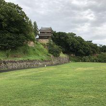 尼ヶ淵:西櫓側より南櫓