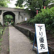 二の丸堀跡(上田鉄道廃線跡)