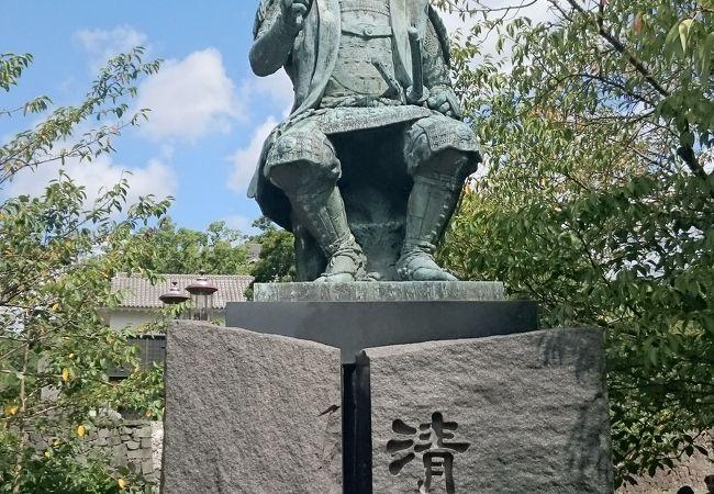 加藤清正公像
