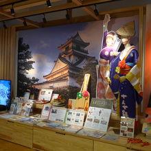 高知県の観光情報を集めたコーナー