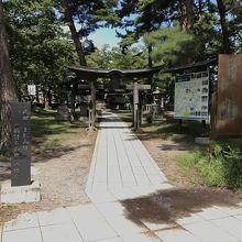 川中島古戦場跡:公園のみ