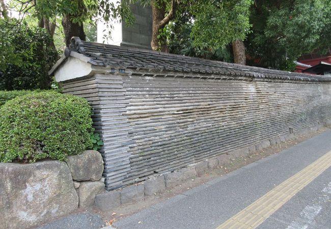 増上寺 築地塀