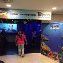 クアラルンプールで水族館