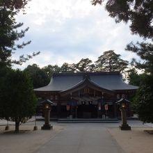 普通の神社です。