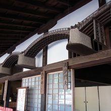 かつては厳島神社の管理者。軒下の錦帯橋が特徴的です。
