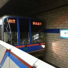 目黒駅から西高島平駅までを結ぶ鉄道路線