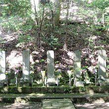北條五代のお墓