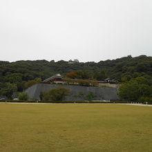 お城一帯の公園