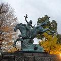 写真:世界連邦平和像