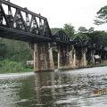 写真:クウェー川鉄橋