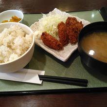 日替わり定食680円