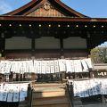 写真:下鴨神社 舞殿