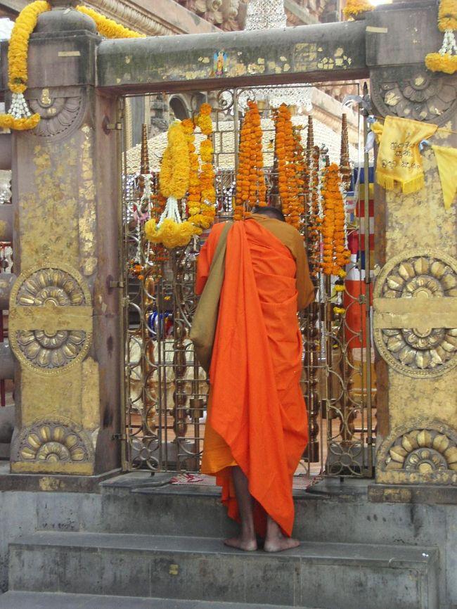 シャカがスジャータに助けられ体制を立て直して、ついてに<br />悟りを開いた場所がここブッダガーヤのマーハーボーディ寺院<br />(大菩提寺)の裏にある金剛宝座です。<br />仏教遺跡の中でも非常に重要な場所、悟りを開いたときの菩提樹<br />は健在で4代目がその場所を守っています。<br /><br />現在、柵が設けられており、基本的には中には入れないのですが<br />今回、運良くはいることができました。<br /><br />スジャータ・レポ−ト <br />http://4travel.jp/traveler/utzutz/album/10052442/<br /><br />「完全版!」最も詳細なインドレポートはここです<br />http://www.geocities.jp/utzutz/india2005/INDO2005.htm<br /><br />