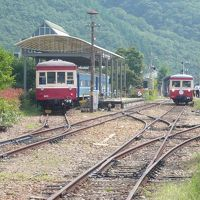 2008年9月 元・同和鉱業片上鉄道の保存鉄道乗車