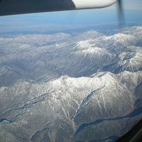 秋の弾丸出張第1弾!新潟出張。空から見た日本の背骨。