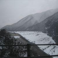 東洋一 徳山ダムの雪景色です