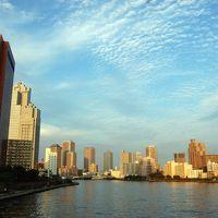 東京ぶらぶら 浜離宮、築地、佃島、月島