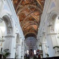 16日間の美食とビーチバカンスのシチリア!Vol21(第4日目午前) ☆エオリエ諸島:リパリ(Lipari) リパリ城の大聖堂と回廊♪