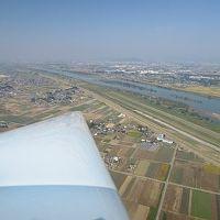 グライダー初搭乗!!!空から熊谷を眺めました!