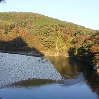 紅葉を見に荒川峡谷へ