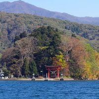 2011紅葉追っかけ(37)・・・野尻湖畔と風景と昼食