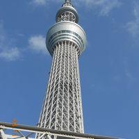 OPEN前の東京スカイツリーを、初めて至近距離から見物してきました♪