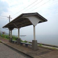 <瀬戸内・初心者一人旅・14>目の前が海・・・誰もいない無人駅 「下灘駅」