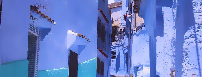 サハラ砂漠を目指してモロッコ一人旅7*・...